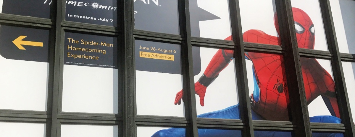 The Spider-Man: Homecoming Experience (Sony Square NYC)