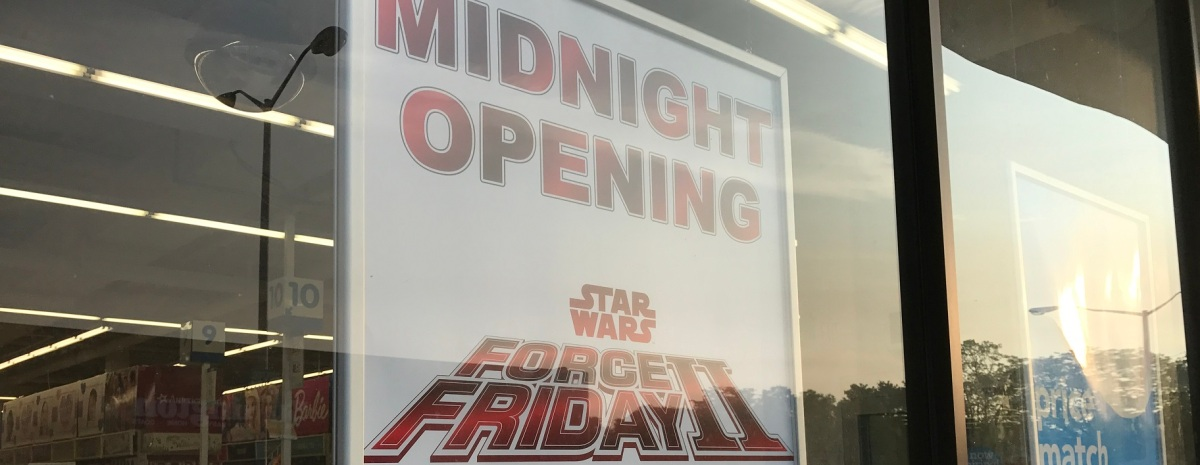 Force Friday II (The Last Jedi)