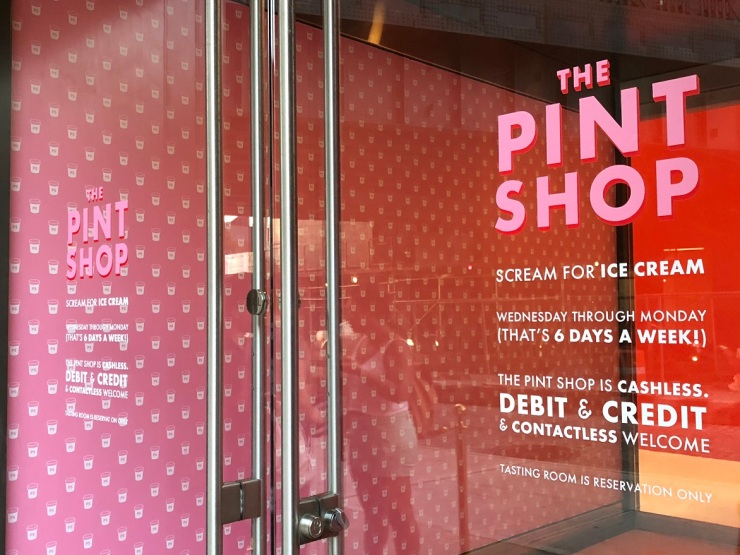 Tasting Room At The Pint Shop NYC (Museum Of Ice Cream 2018